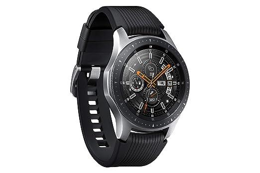 Samsung Galaxy - Reloj inteligente, Bluetooth, Plateado, 46 mm [Versión alemana: Podría presentar problemas de compatibilidad]