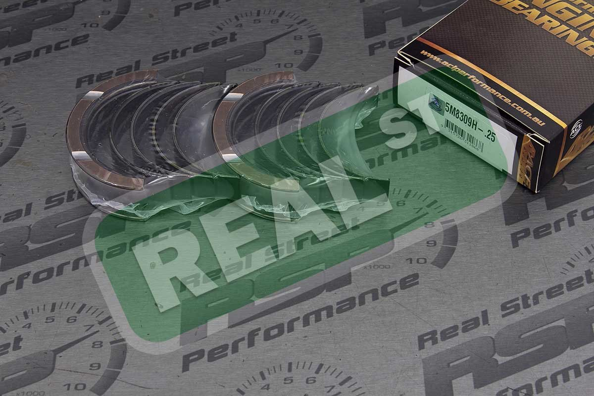 ACL 5M8309H-.25 Oversized High Performance Main Bearing Set for Subaru, 0.25mm