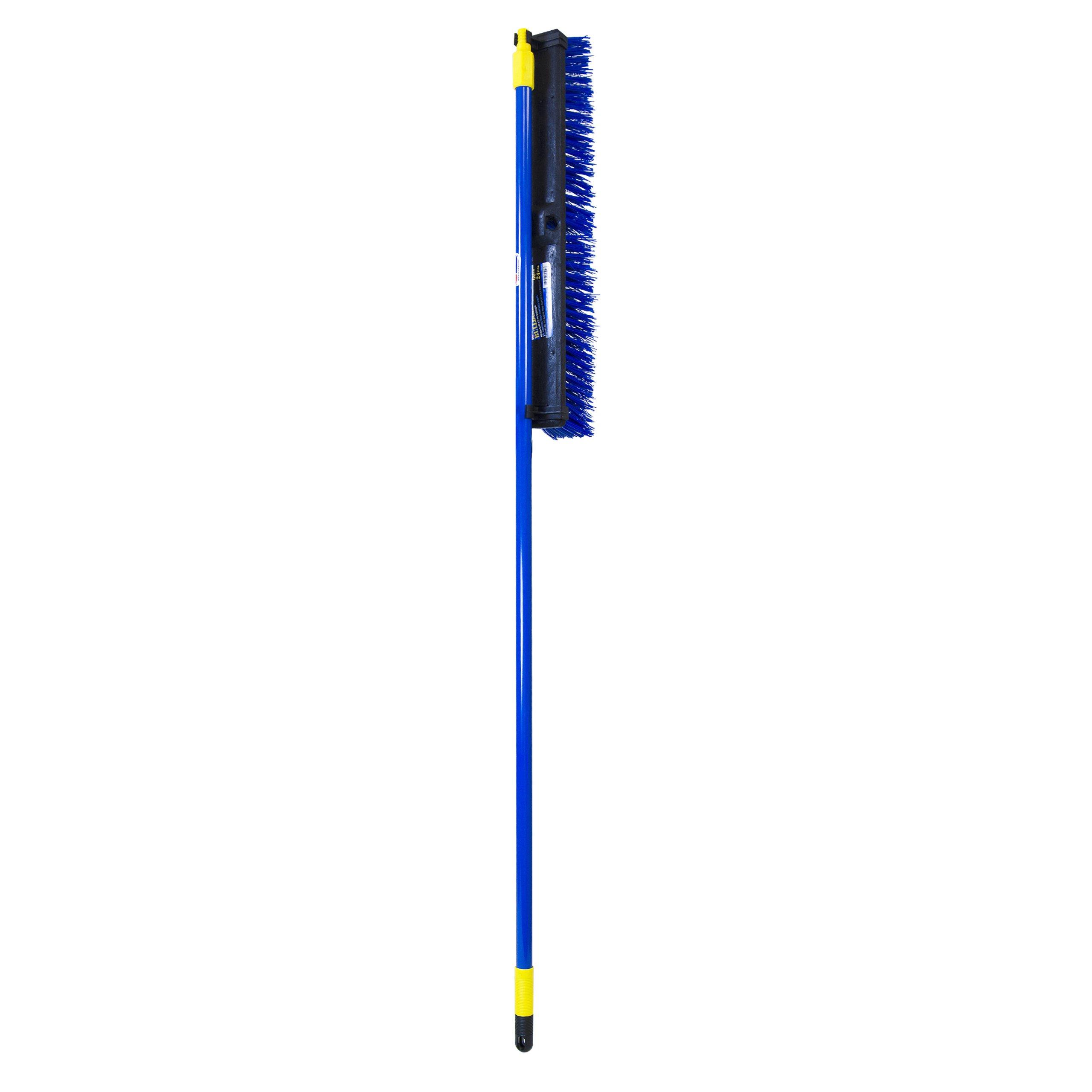 Quickie Bulldozer 24-Inch Super Stiff Poly Fiber Push Broom