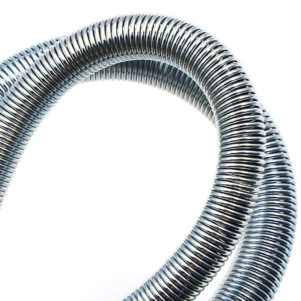 Free Size Silber Matedepreso 5 x Federrohrbiege-Set f/ür Klimaanlage