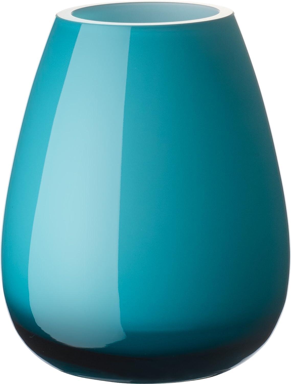 Bleu Villeroy /& Boch 11-7303-1012 Vase 120mm Verre