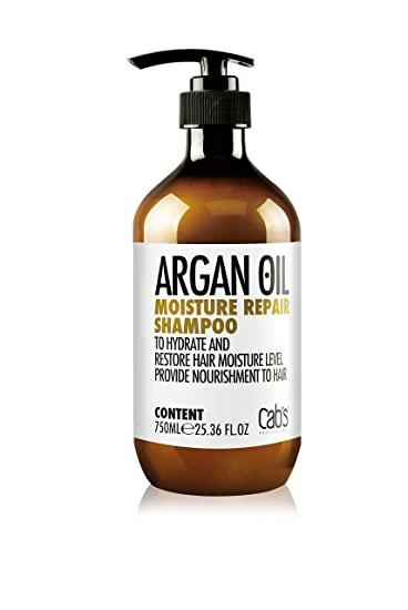3179c4f7dc71fc Buy Cab s Professional Organic Argan Oil Moisture Repair Shampoo 750ml  25.36 fl.oz Online at Low Prices in India - Amazon.in