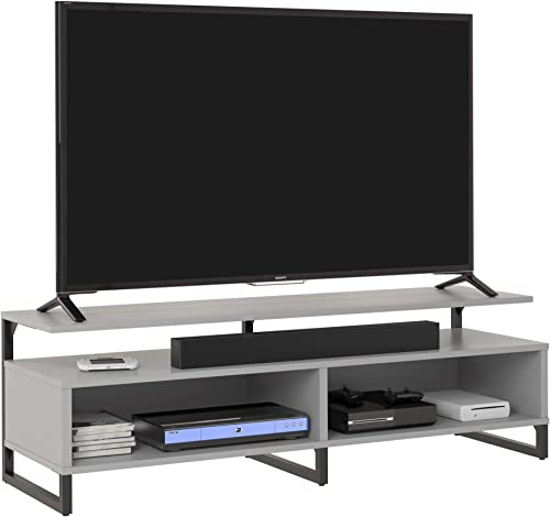 Ameriwood Home Whitby TV Stand, Dove Gray