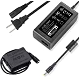 F1TP DMW-DCC8 DMW-AC8 AC Power Supply Adapter Dummy Battery Charger Kit Replace DMW-BLC12 Battery for Panasonic Lumix…