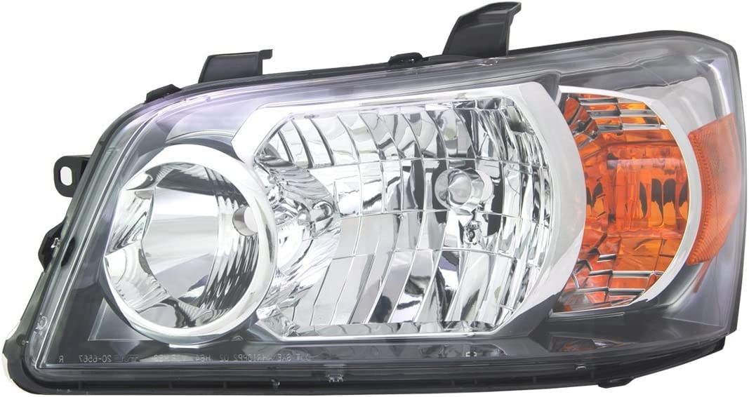 TYC 20-6567-01-9 Toyota Highlander Right Replacement Head Lamp