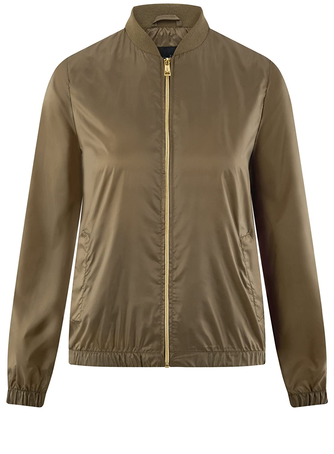 oodji Ultra Womens Lightweight Bomber Jacket