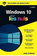 Windows 10 Poche Pour les Nuls, 2e (POCHE NULS) (French Edition) Kindle Edition