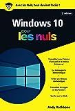 Windows 10 Poche Pour les Nuls, 2e (POCHE NULS)