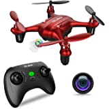 TEC.BEAN Mini Drone Sparrow GD90-C per Principianti con Videocamera 720P HD, Quadricottero Entry Level con Altitude Hold, Headless Mode, Decollo e Ritorno con un Solo Tasto