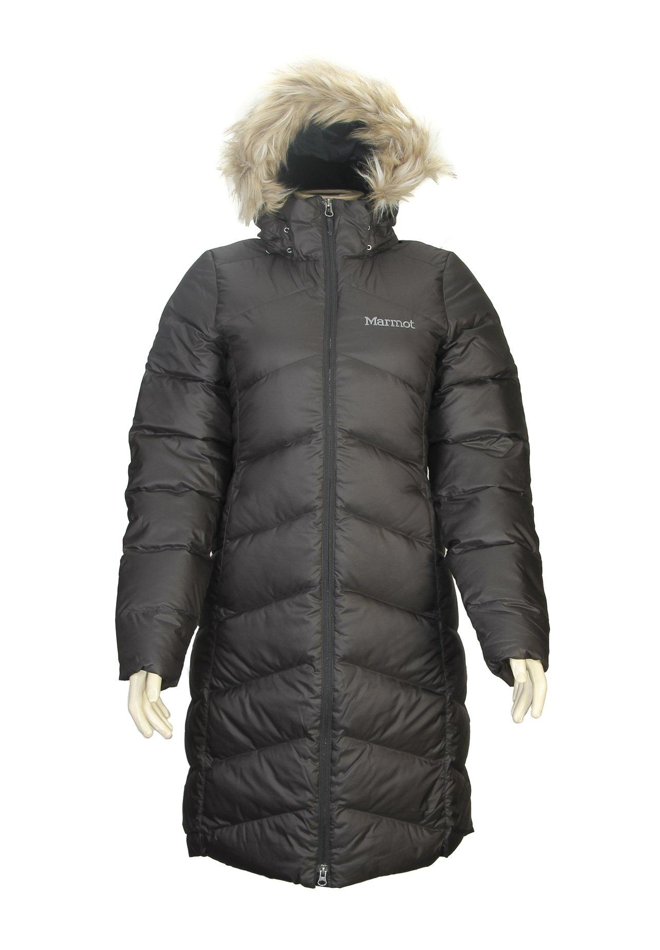 Marmot Womens  Montreaux Down Coat - Medium - Black
