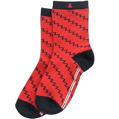ランバン スポール LANVIN SPORT 靴下 ソックス VLI0005A5 レディス レッド R05 フリー