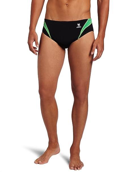 TYR Sport Mens Alliance Durafast Splice Square Leg Swim Suit SPQP7A