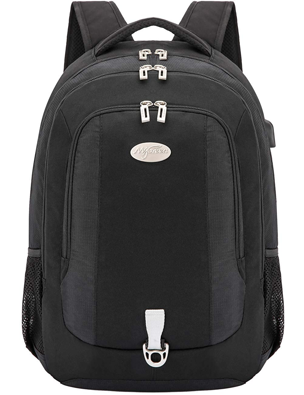 Mygreen Travel Gear Professional Business College Laptop Backpack – 15-17