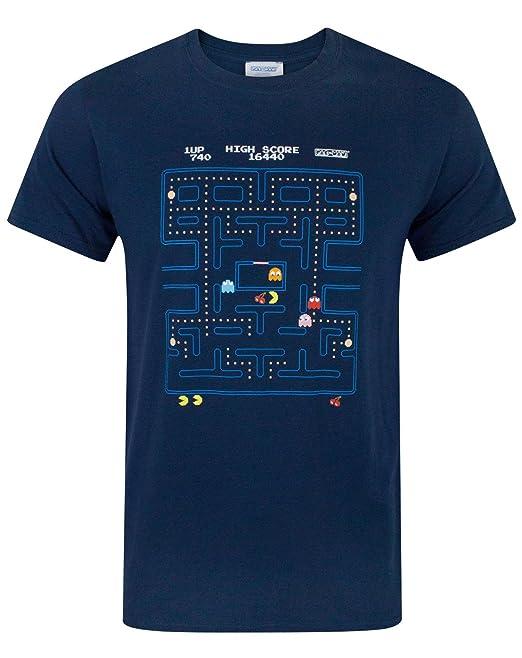 Pac Man Hombres Camiseta  Amazon.es  Ropa y accesorios c7200f6865c