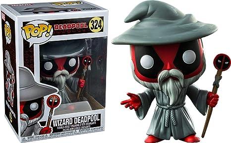Amazon.com: Funko Pop. Wizard Deadpool Barnes y noble ...