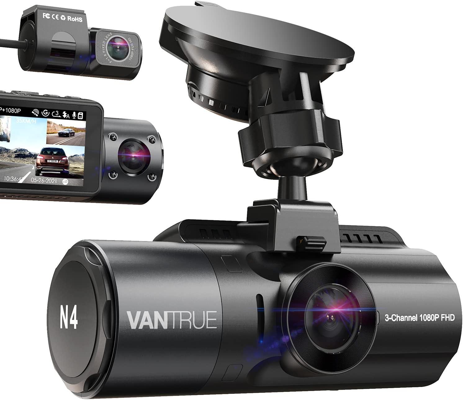 Vantrue 3-Channel Dash Cam