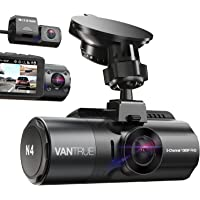 Vantrue N4 3 Channel 4K Dash Cam, 4K+1080P Front and Rear, 4K+1080P Front and Inside,… photo
