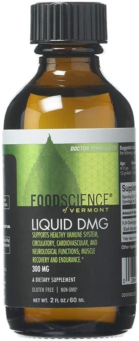 Foodscience Of Vermont Liquid DMG 300mg 2oz