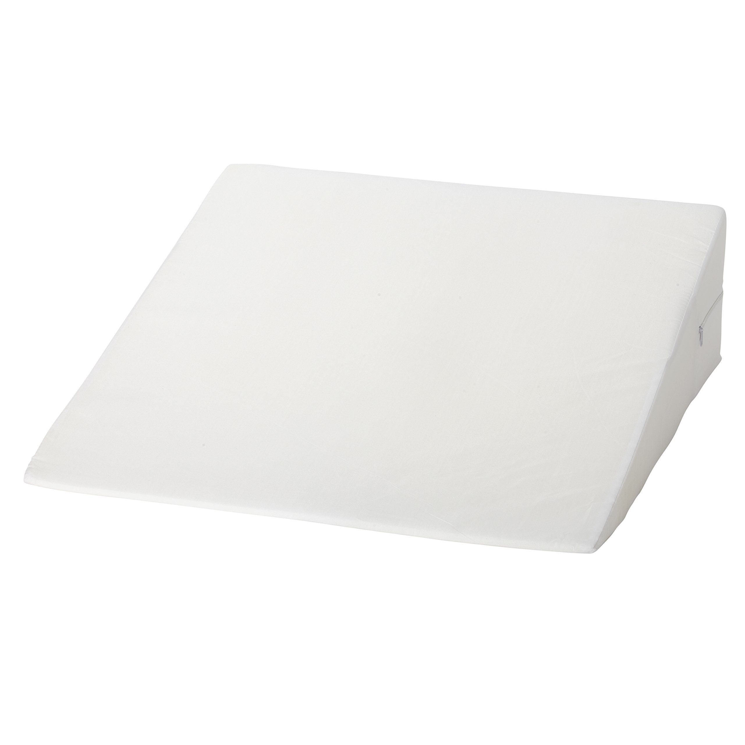 DMI Foam Bed Wedge Pillow, Acid Reflux PIllow, Leg Elevation Pillow, White, 7 x 24 x 24 inches by Mabis (Image #9)