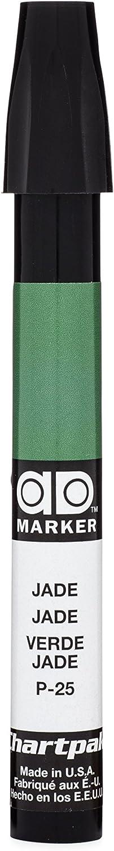 The Original Chartpak AD Marker, Tri-Nib, Jade, 1 Each (P25)