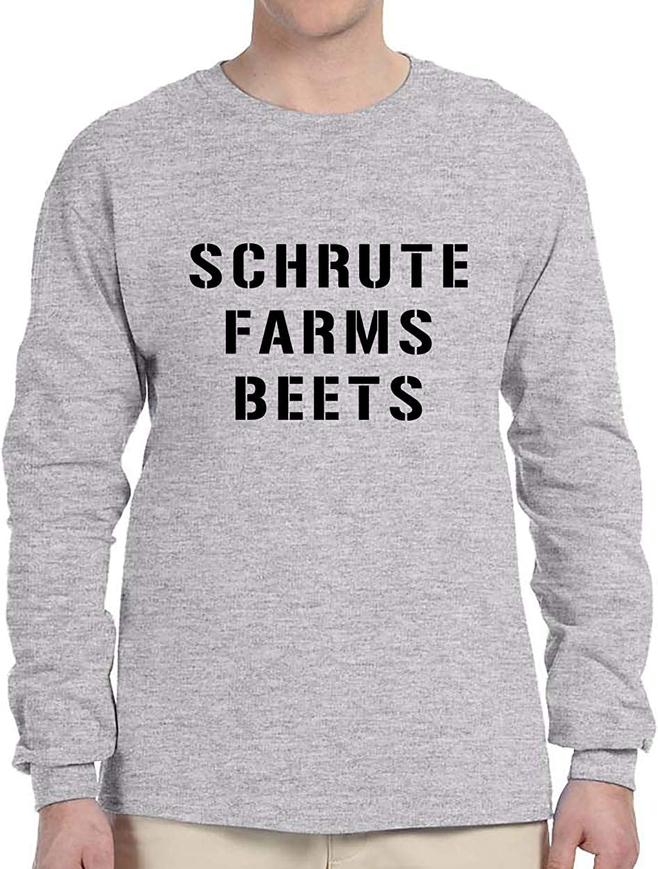 Schrute Farms Beets | Adult & Youth Long Sleeve Shirt