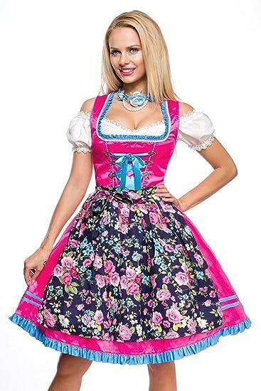 Trachtenhut Hut Tracht Trachten Oktoberfest M/ünchen Kordel Hutkordel Blumen Bayern Dirndl Zubeh/ör Kopfbedeckung in 5 Farben