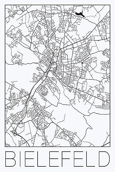 8346293a3eab38 Artland Qualitätsbilder I Wandbilder Selbstklebende Wandfolie Städte  Deutschland Digitale Kunst Schwarz Weiß E6ZH Retro Karte
