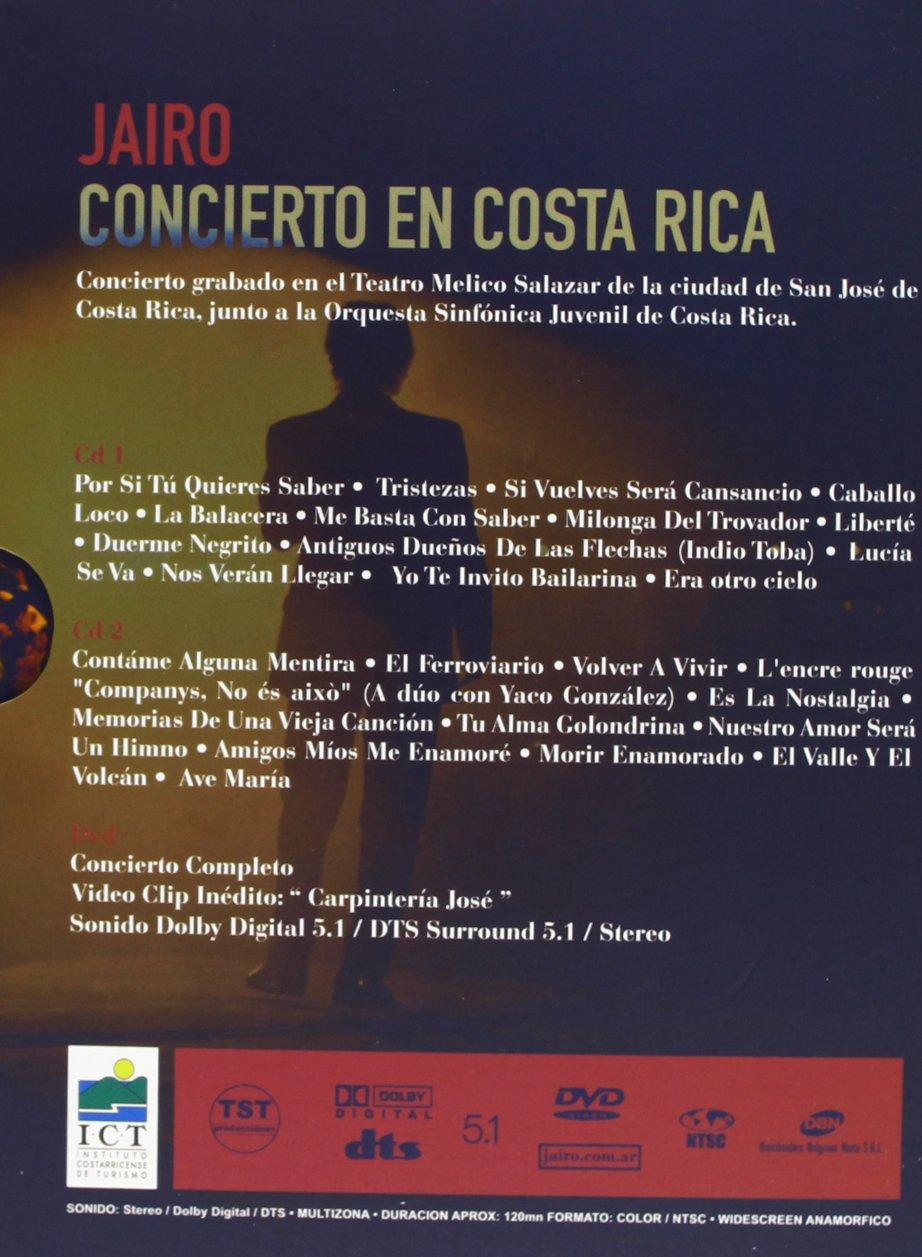 Jairo en Vivo en Costa Rica