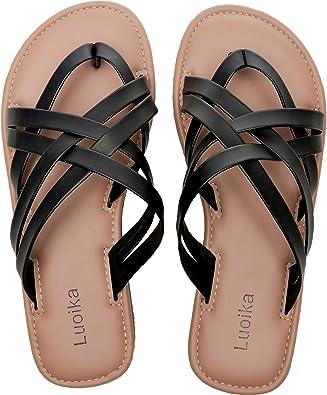 Women's Wide Width Slide Sandals