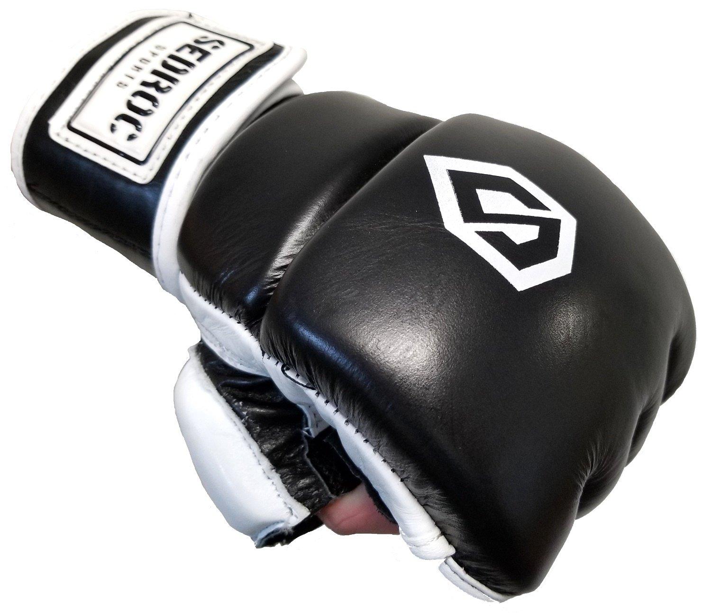 Sedroc Boxing Wristwrap Leather Heavy Bag MMA