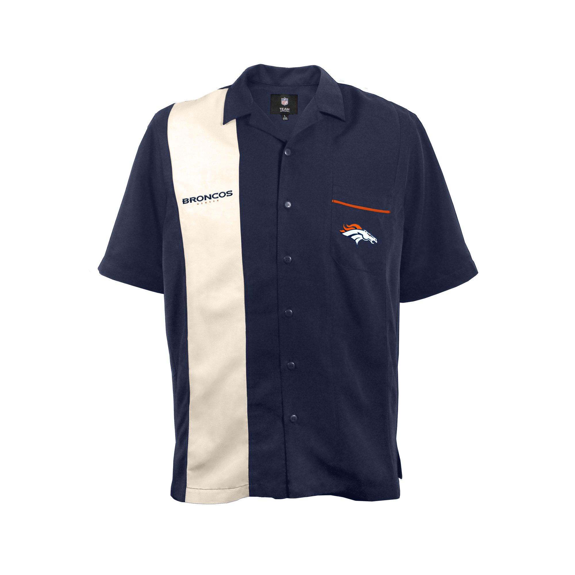 NFL Denver Broncos Strike Bowling Shirt, XXL by Littlearth
