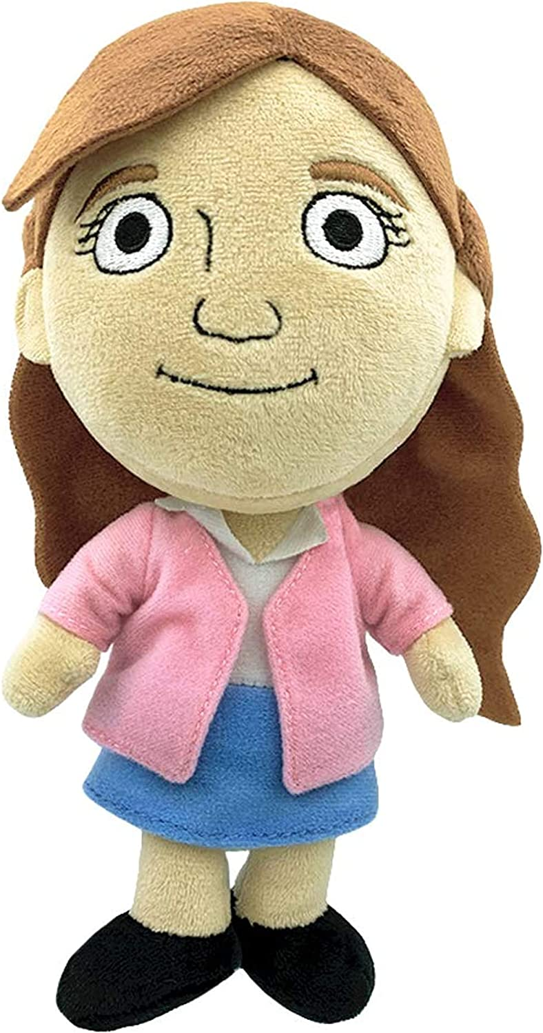 """The Office - 7"""" Collectible Plush (Pam)"""