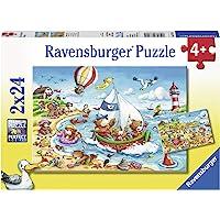 Ravensburger 2x24 Parça Yapboz Seaside Holiday
