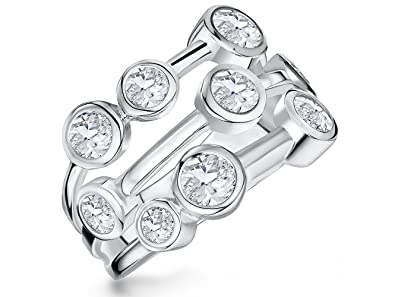 0740334d637bf9 JOOLS by Jenny Brown - Sterling Silver Ring - Boodles Raindance Style (I)