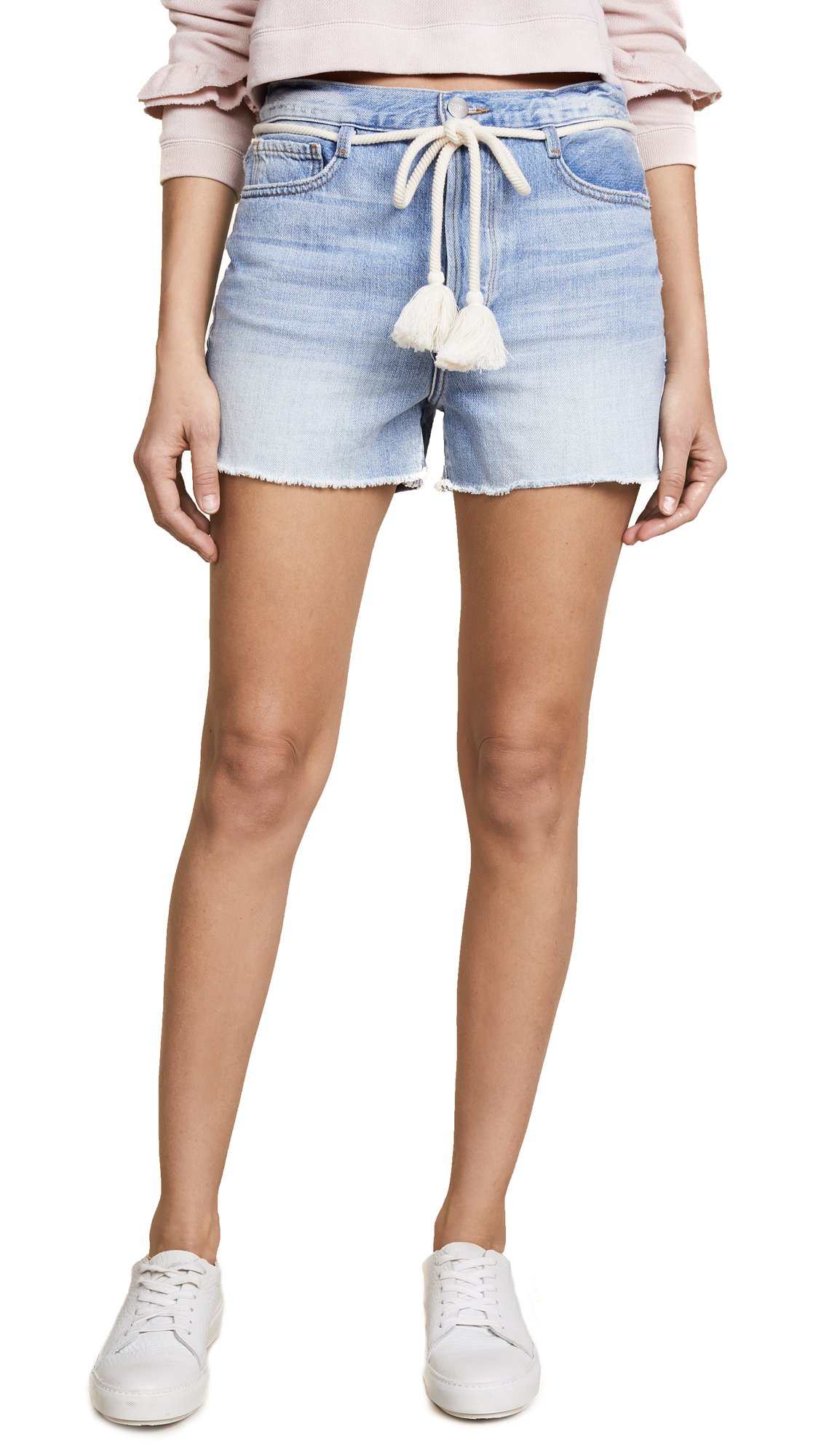 FRAME Women's Le Original Shorts With Tassel Tie, Gregory Way, 25