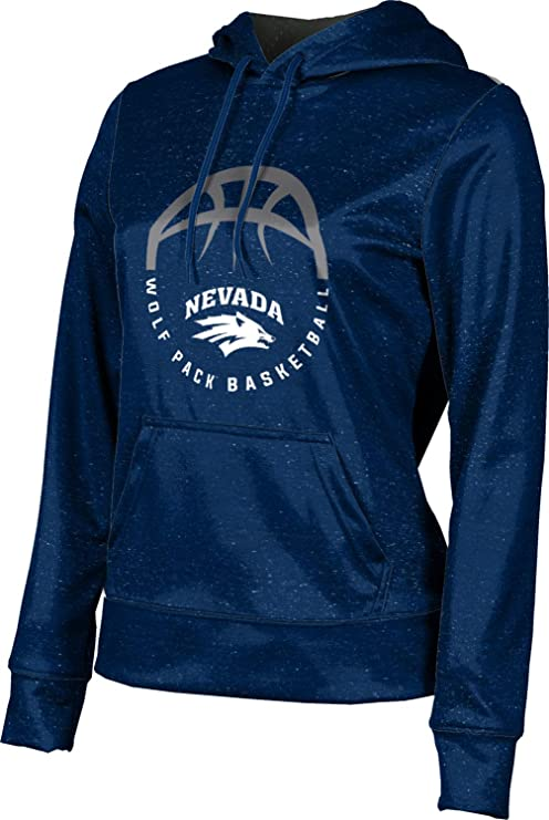 School Spirit Sweatshirt ProSphere University of Nevada Girls Pullover Hoodie Heathered