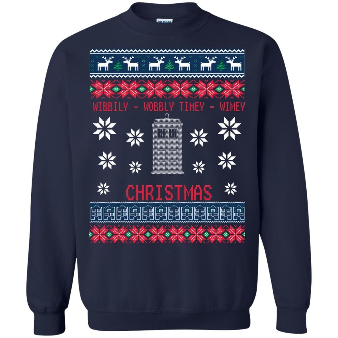 Inspired Doctor Who Ugly Christmas Sweater Unisex Shirts