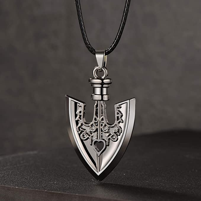 Amazon Com Jojo Stand Arrow Requiem Arrow Pendant Necklace Stand Arrow Zinc Alloy Clothing The power of the arrow originally came from a meteorite which happened to. jojo stand arrow requiem arrow pendant necklace stand arrow zinc alloy