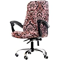 WOMACO Printed Office Chair Covers, Stretch Computer Chair Cover Universal Boss Chair Covers Modern Simplism Style High…