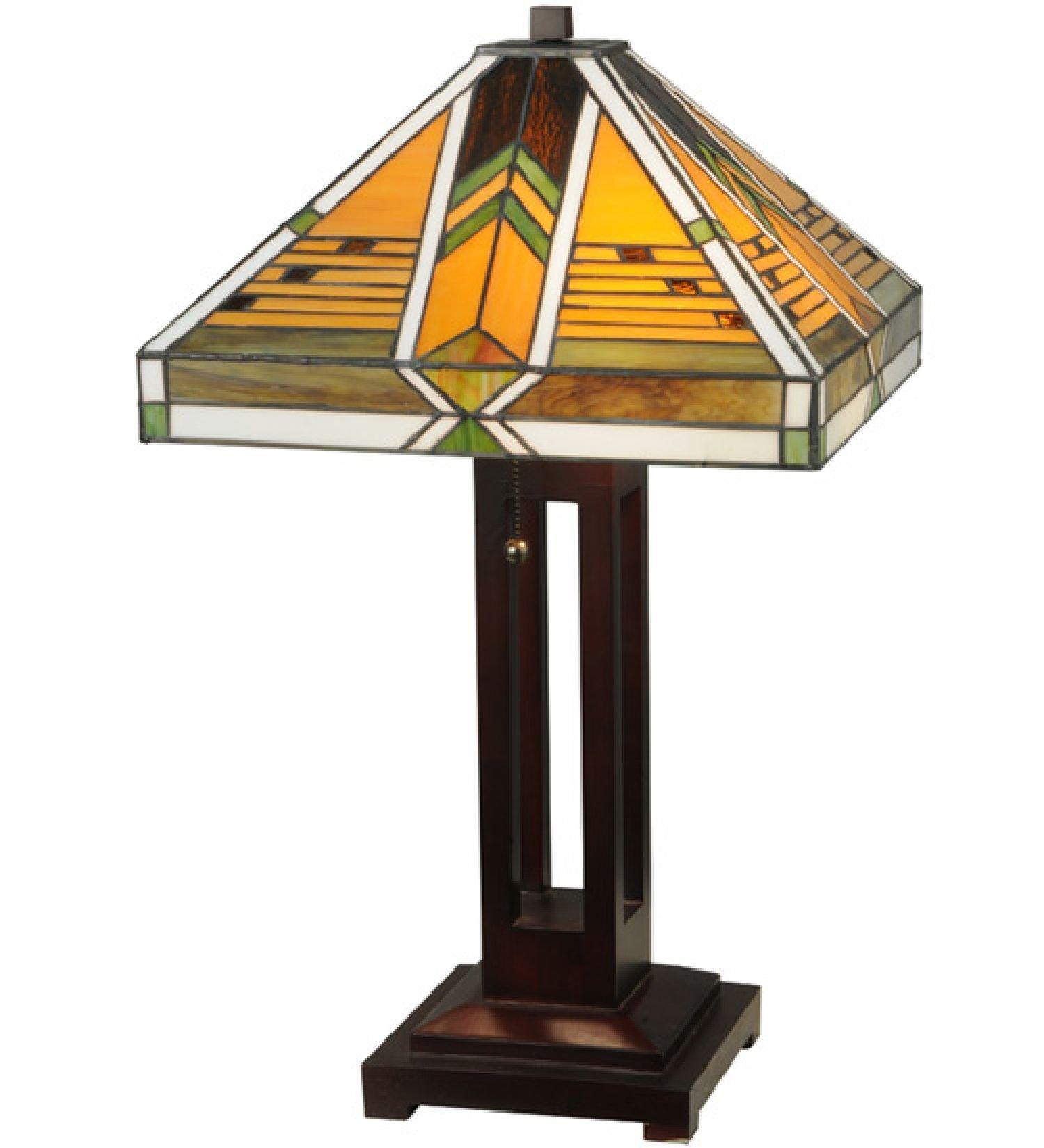 StarSun Depot 24'' H Abilene Table Lamp Dry