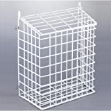 White Internal Letter Box Cage and Mail Basket Catcher Pre-Assembled Extra Large (333mm x 400mm x 170mm)