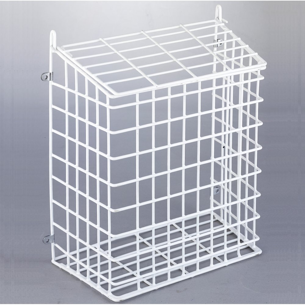 285mm x 352mm x 151mm Internal Letter Box Cage and Mail Catcher in White Medium /& Large Medium