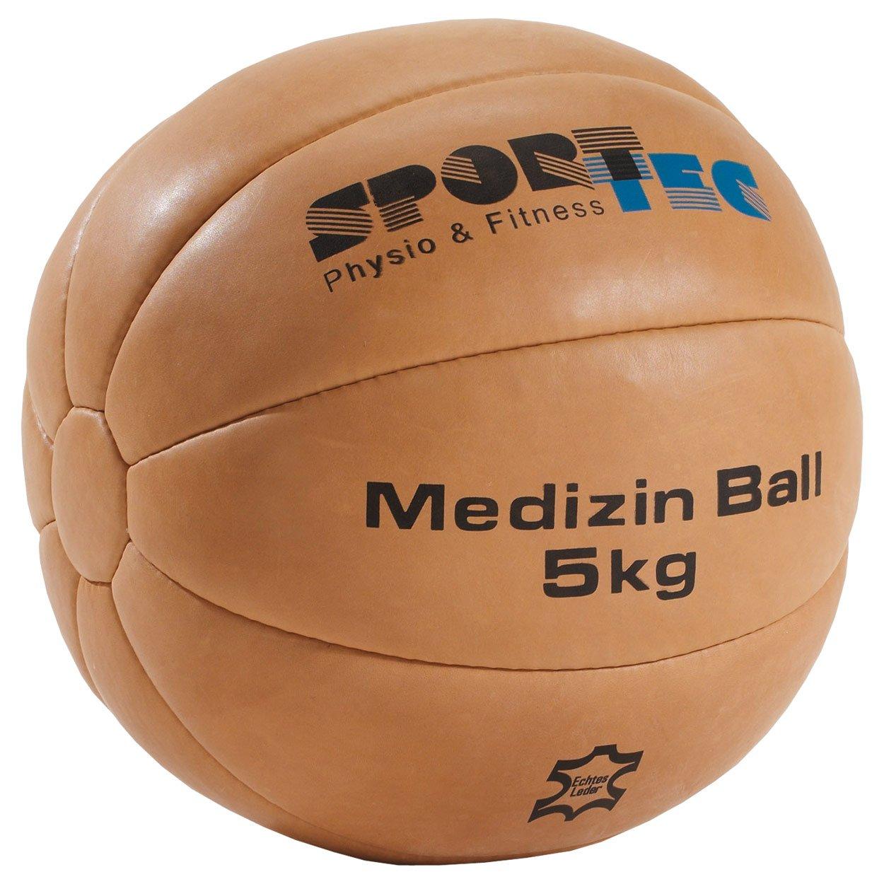 Sport-Tec - Balón medicinal de piel, 30 cm de diámetro, 5 kg ...