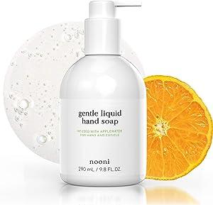 NOONI Gentle Liquid Hand Soap   Mild Hand Soap with Citrus, Applewater and Jojoba Oil   Korean Skincare Vegan Cruelty-Free