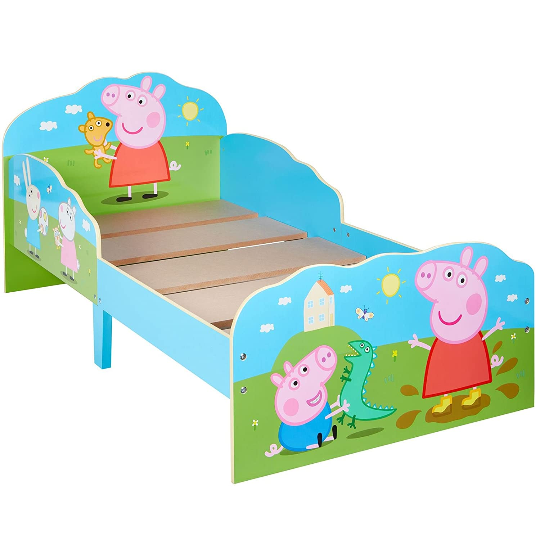 Matelas en Mousse Lit Peppa Pig Toddler Avec Rangement
