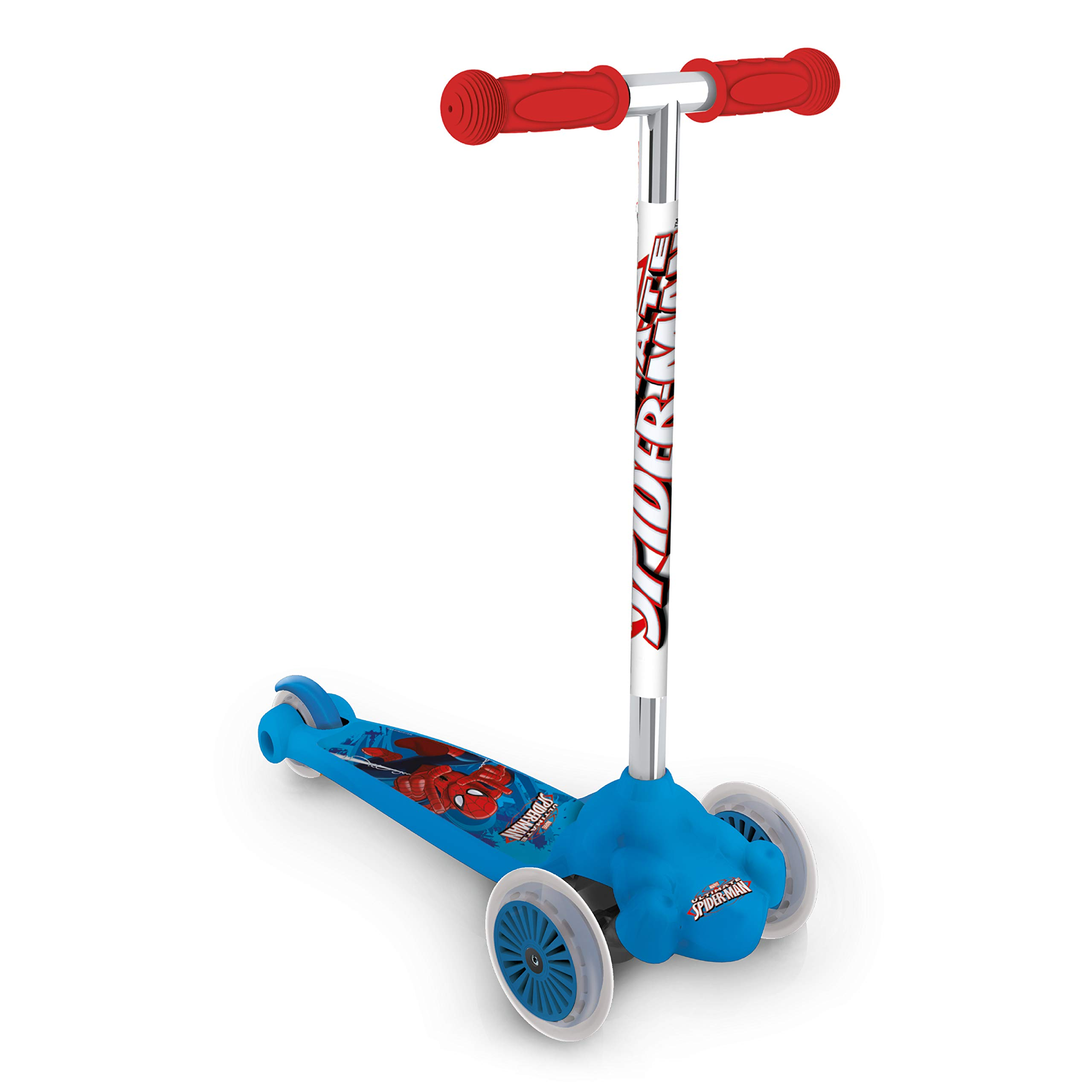 Spiderman Mondo Twist and Roll Scooter with Extra Grip