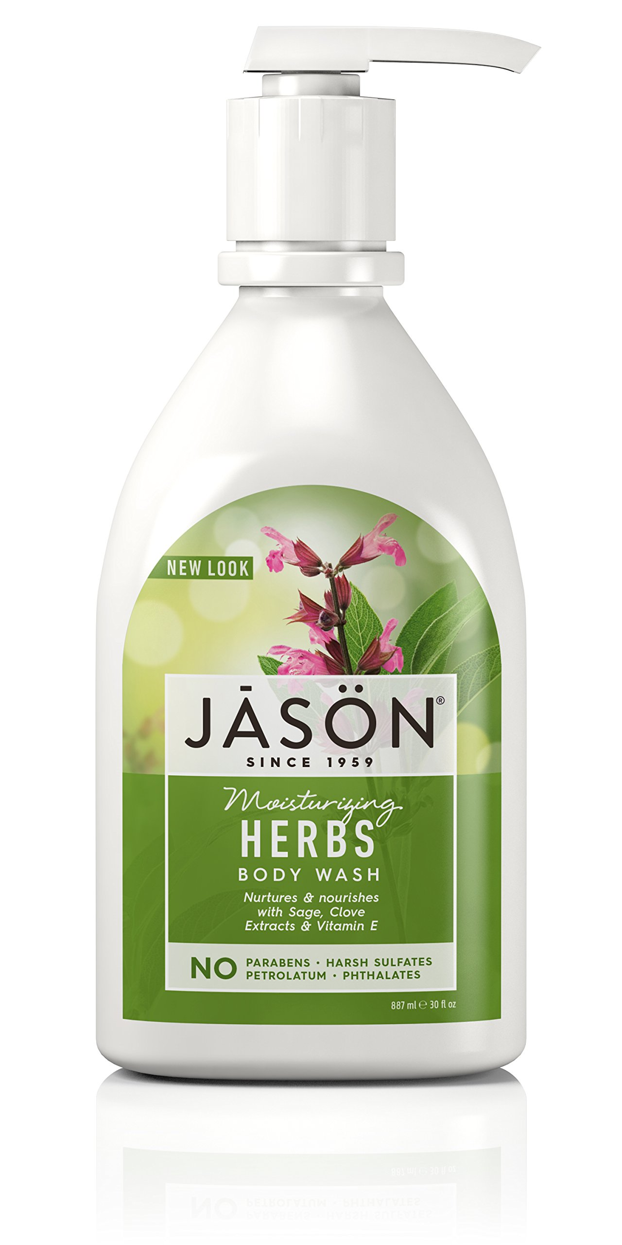 Jason 30 oz Moisturizing Herbs Pure Natural Body Wash