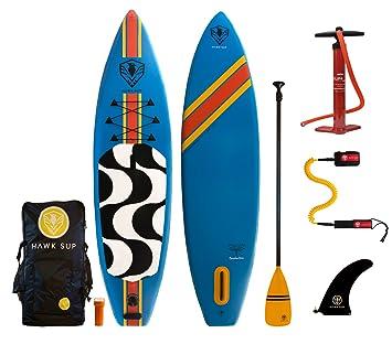 Amazon.com: Hawk Sup Copacabana 11 Inflatable Sup del ...