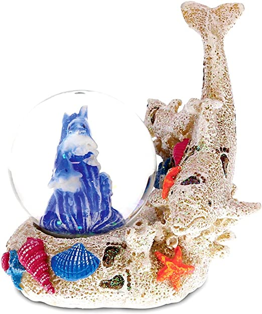 Great Barrier Reef Christmas Ornament Porcelain Coral Tropical Fish 2.75 Inches
