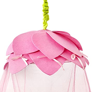 Princess Bed Canopy u2013 Fairy Tale Childrens Bed Canopy With Pink Petals- Quick and Easy  sc 1 st  Amazon UK & Princess Bed Canopy - Fairy Tale Childrens Bed Canopy With Pink ...